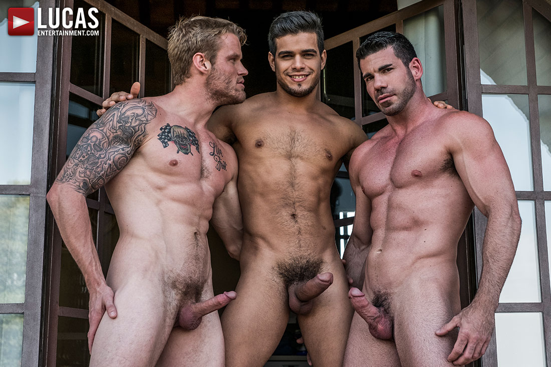 Hole & Face | Rico Marlon, Shawn Reeve, Billy Santoro - Gay Movies - Lucas Entertainment