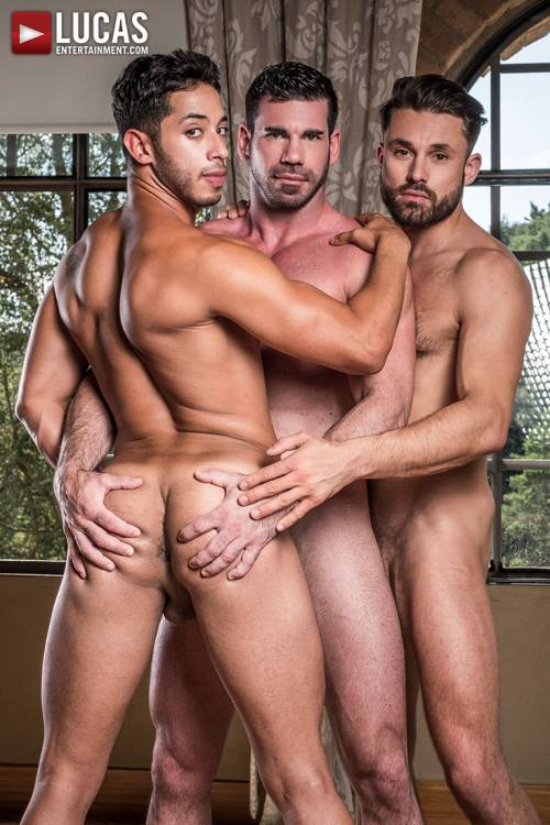 Dine Ass-ty | Drae Axtell, James Castle, Billy Santoro - Gay Movies - Lucas Entertainment