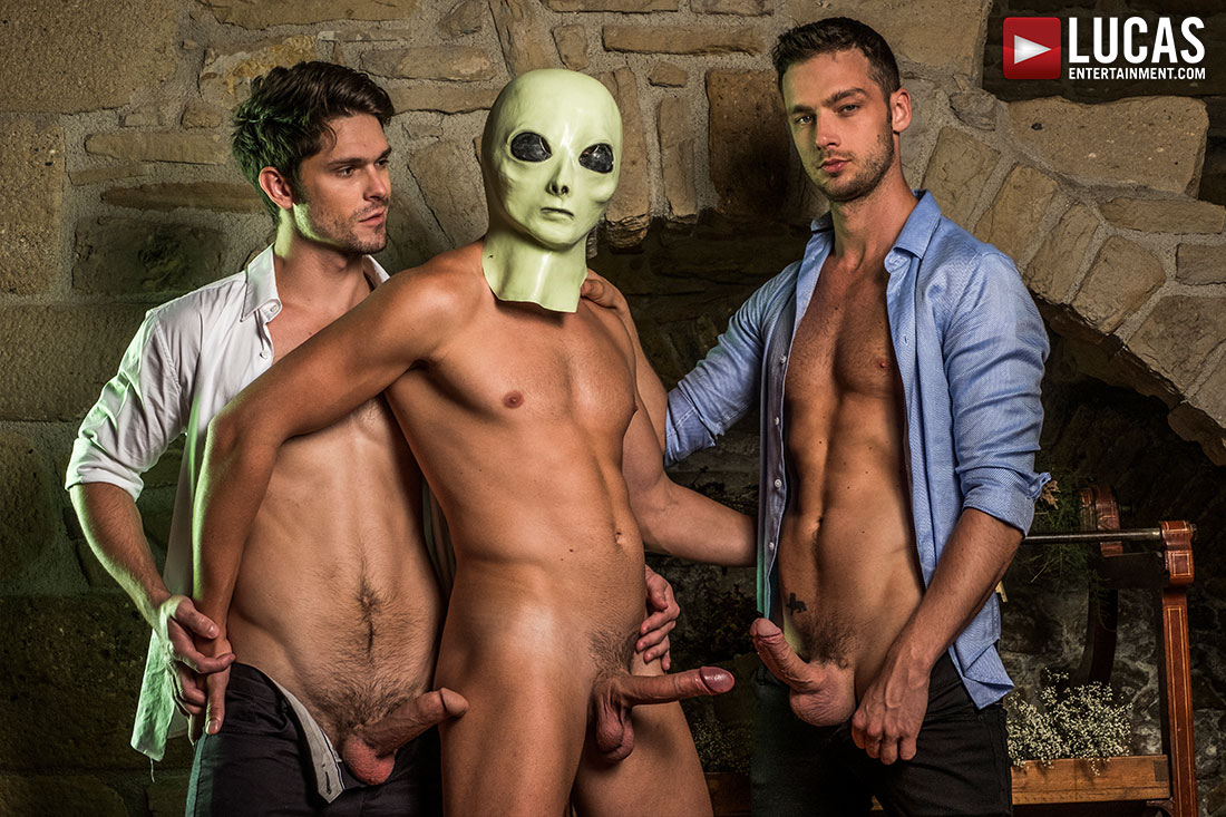 The XXX Files | Devin Franco, Damon Heart, Bogdan Gromov - Gay Movies - Lucas Entertainment