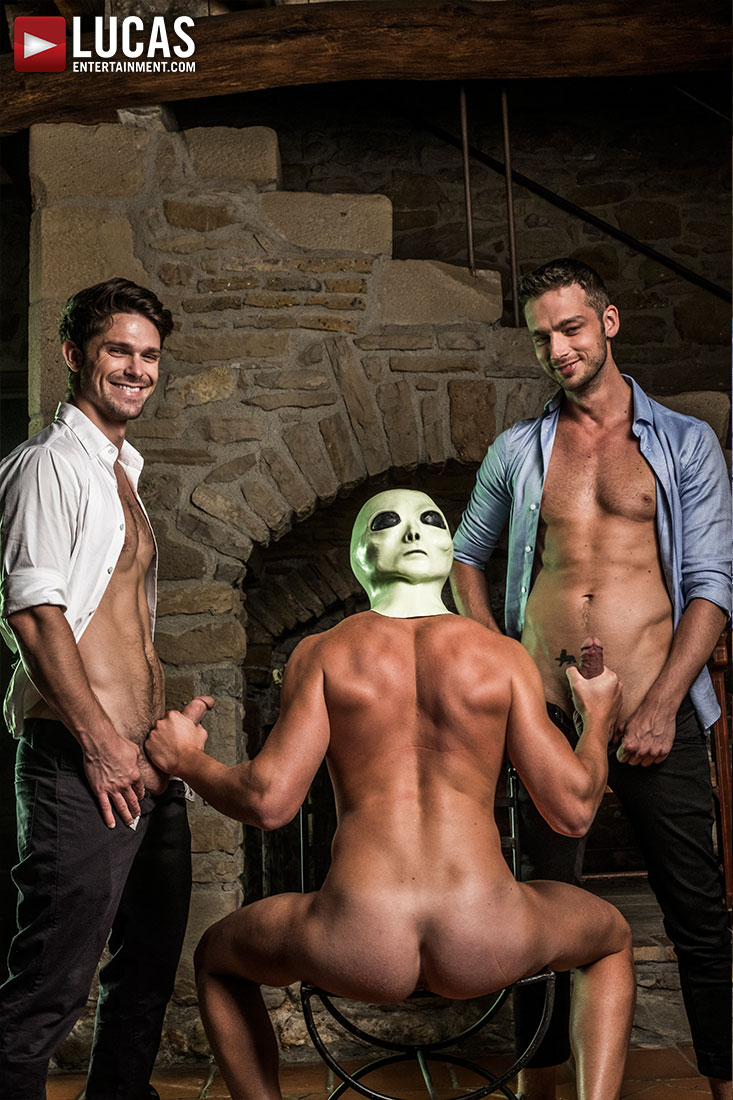 The XXX Files | Devin Franco, Damon Heart, Bogdan Gromov - Gay Movies - Lucas Entertainment
