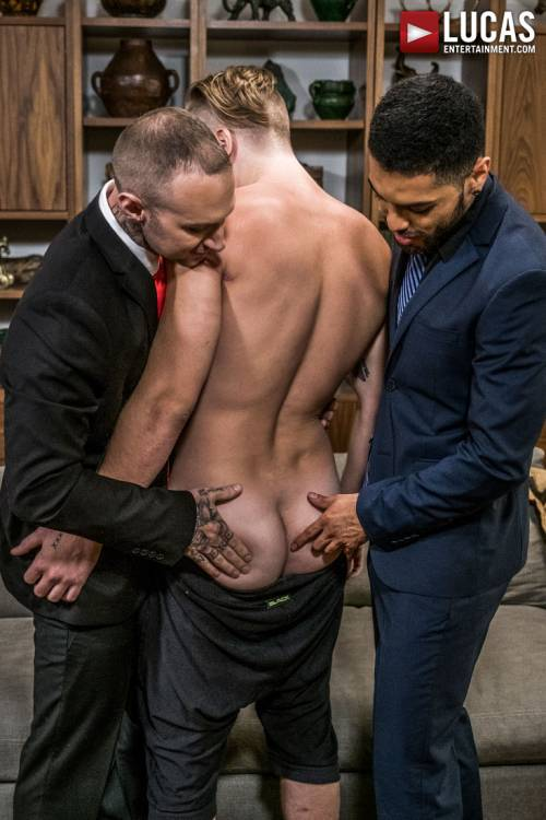 Dylan James And Angel Duran Share Tom Faulk - Gay Movies - Lucas Entertainment