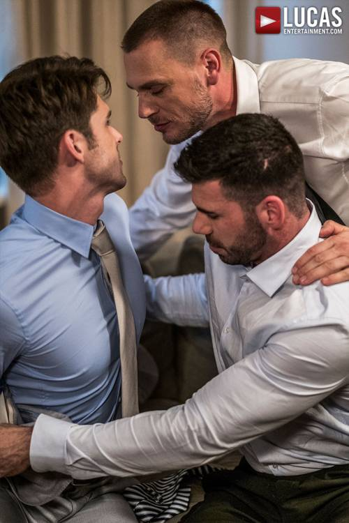 Hans Berlin And Billy Santoro Fuck Devin Franco - Gay Movies - Lucas Entertainment