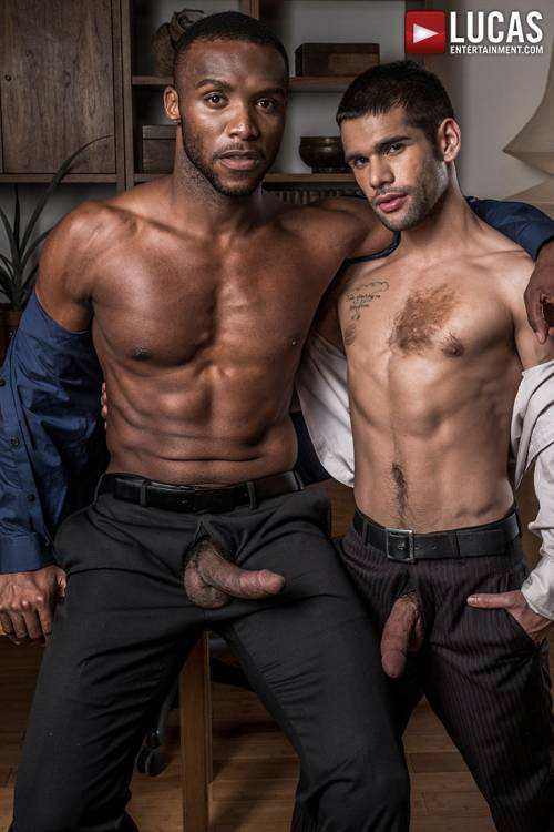 Andre Donovan Makes Ty Mitchell His Bitch - Gay Movies - Lucas Entertainment