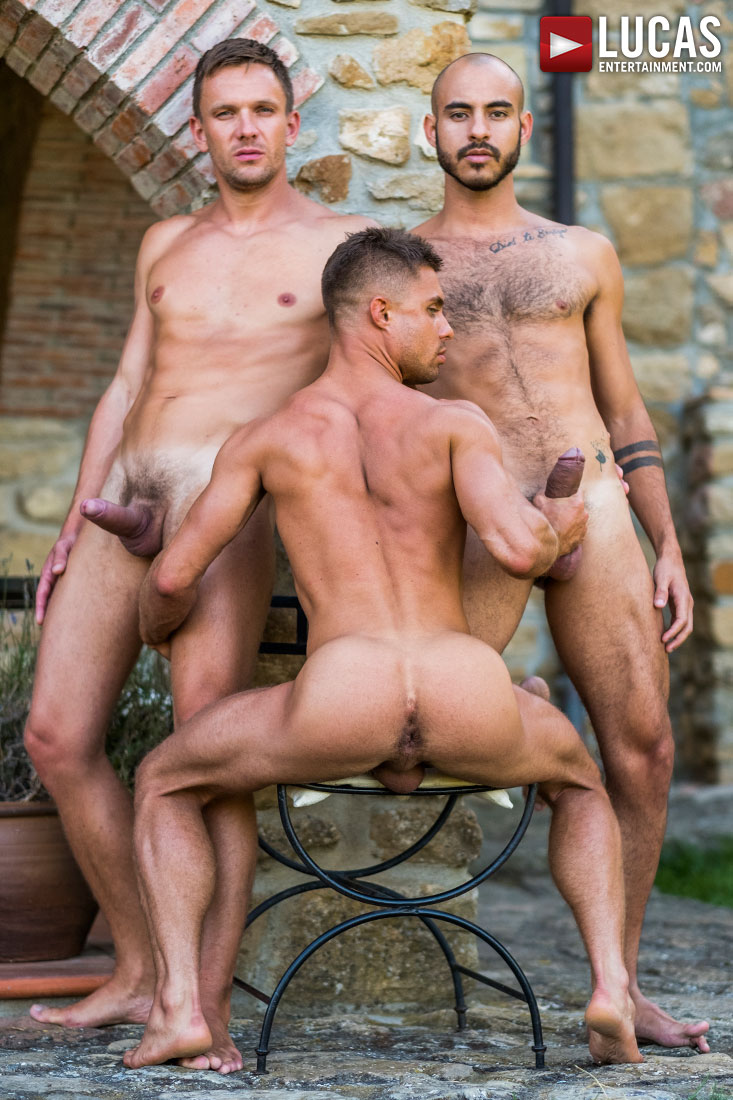 Andrey Vic And Patrick Dei Double Fuck Klim Gromov - Gay Movies - Lucas Entertainment
