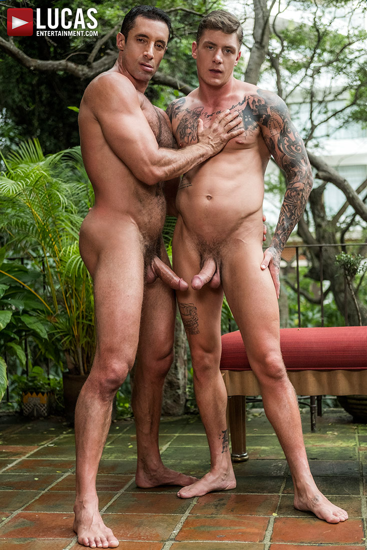 Nick Capra Bottoms For Geordie Jackson - Gay Movies - Lucas Entertainment