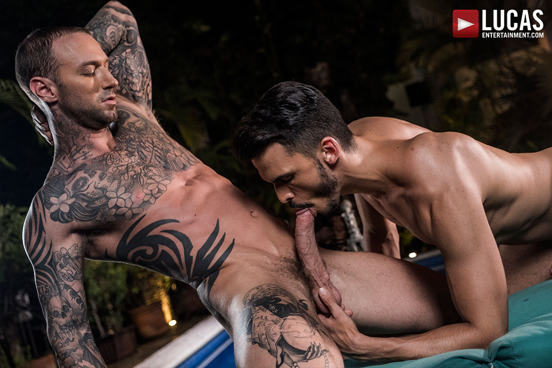 Dylan James Fucks Aaden Stark Bareback - Gay Movies - Lucas Entertainment