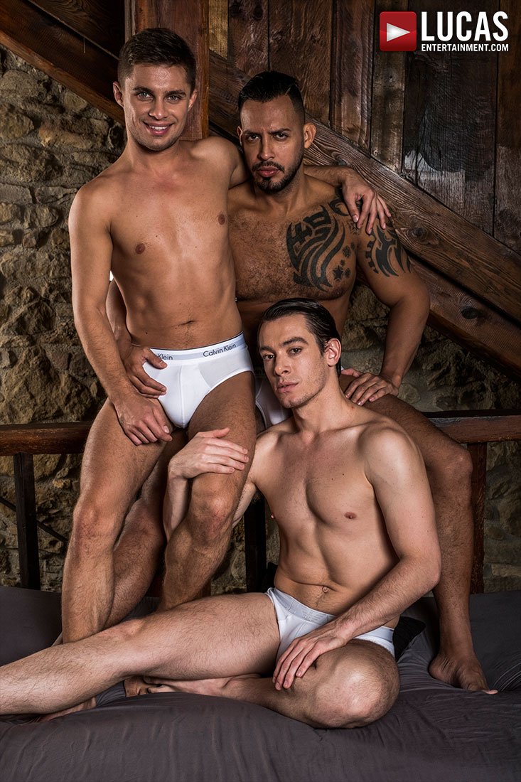 Viktor Rom Fucks His Boys, Klim Gromov And Jon Bae - Gay Movies - Lucas Entertainment