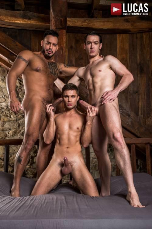 Viktor Rom Fucks His Boys, Klim Gromov And Jon Bae - Gay Movies - Lucas Entertainment