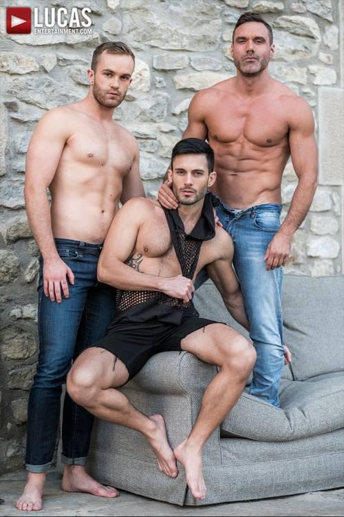 Top-Daddy Manuel Skye Fucks Jackson Radiz And Andy Star - Gay Movies - Lucas Entertainment