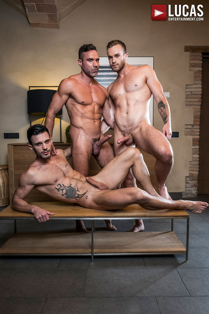 Top-Daddy Manuel Skye Fucks Jackson Radiz And Andy Star - Gay Movies - Lucas Entertainment