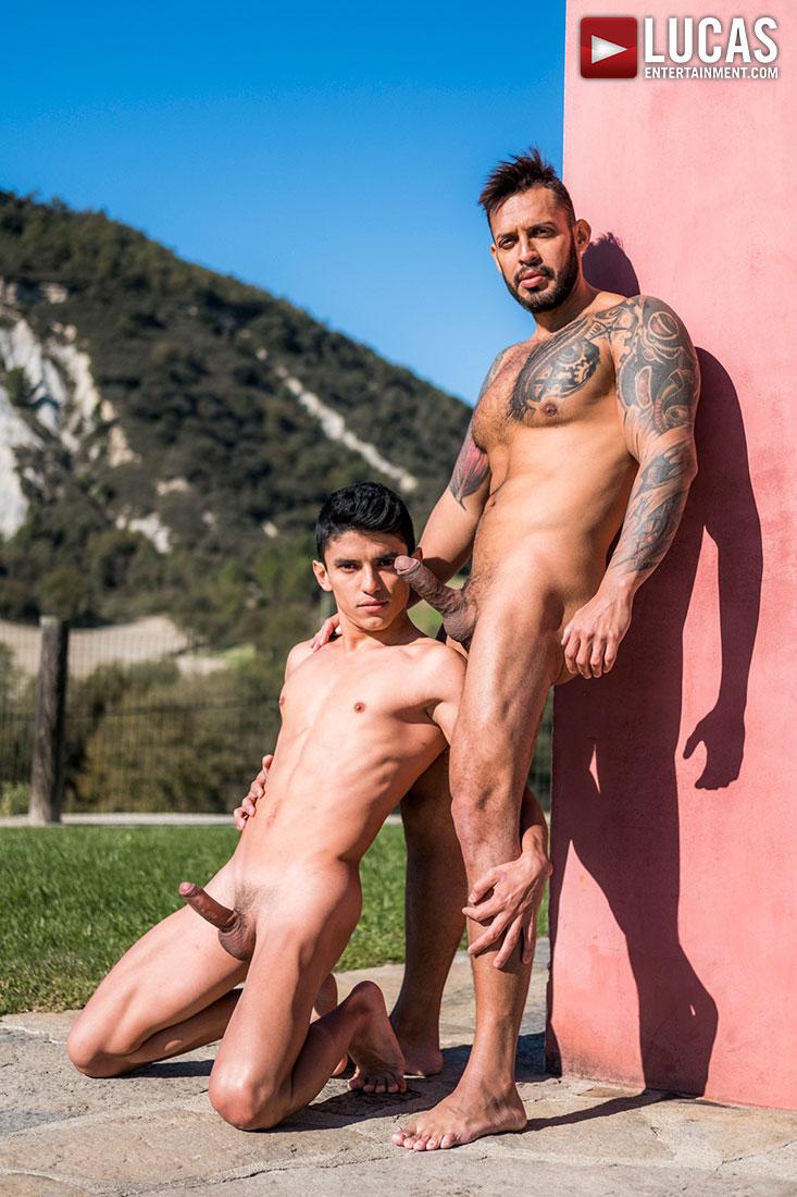 Alpha-Top Viktor Rom Dominates Joaquin Santana's Boy Hole - Gay Movies - Lucas Entertainment