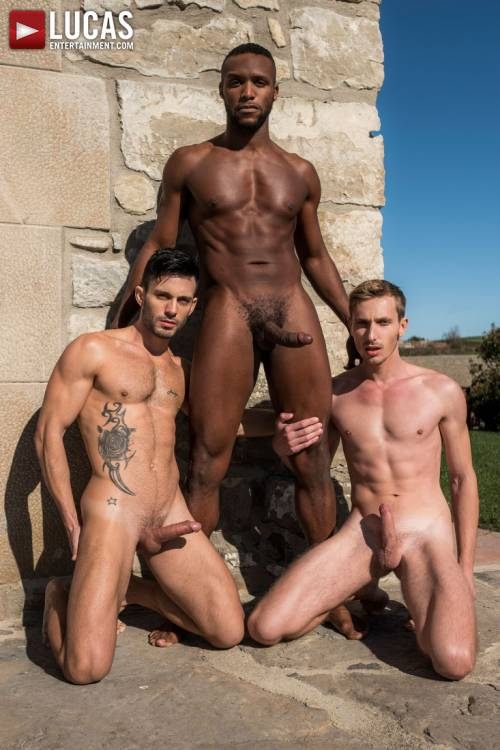 Andy Star And Christian Haynes Service Andre Donovan's Big Black Cock - Gay Movies - Lucas Entertainment