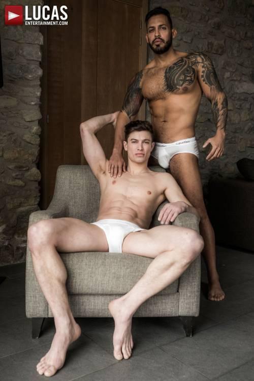 Viktor Rom Splits Ruslan Angelo In Half - Gay Movies - Lucas Entertainment