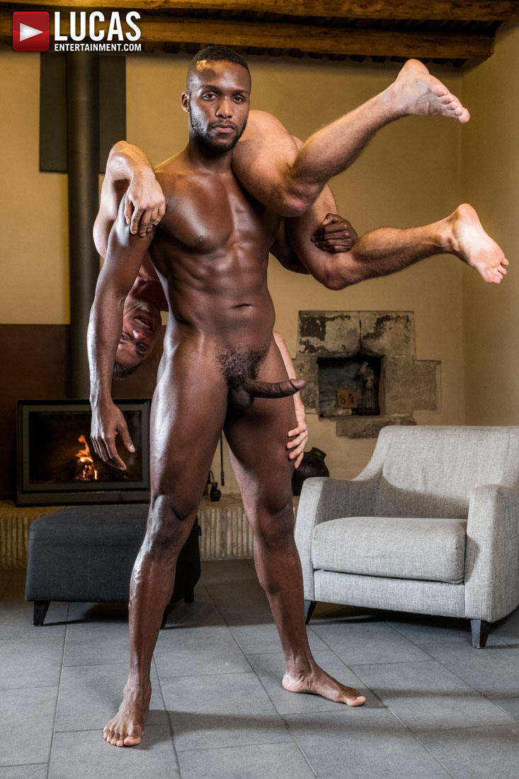 Klim Gromov Rides Andre Donovan's Bare Black Cock - Gay Movies - Lucas Entertainment