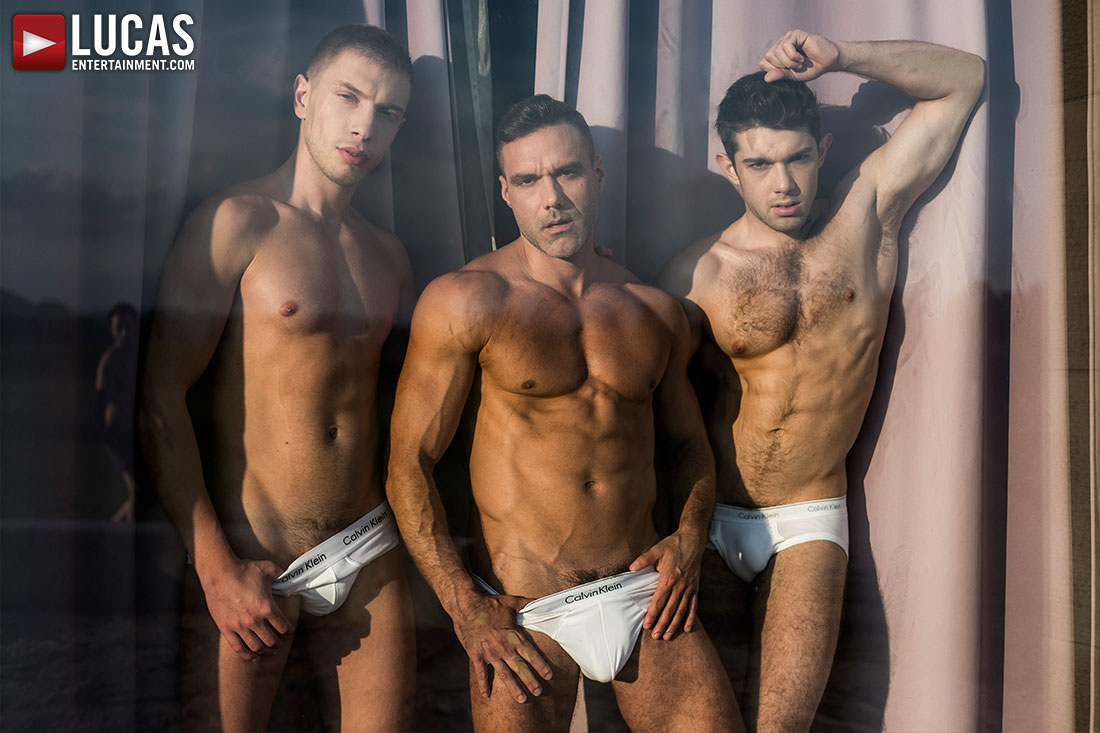 Ben Batemen And Bogdan Gromov Share Manuel Skye's Daddy Dick - Gay Movies - Lucas Entertainment