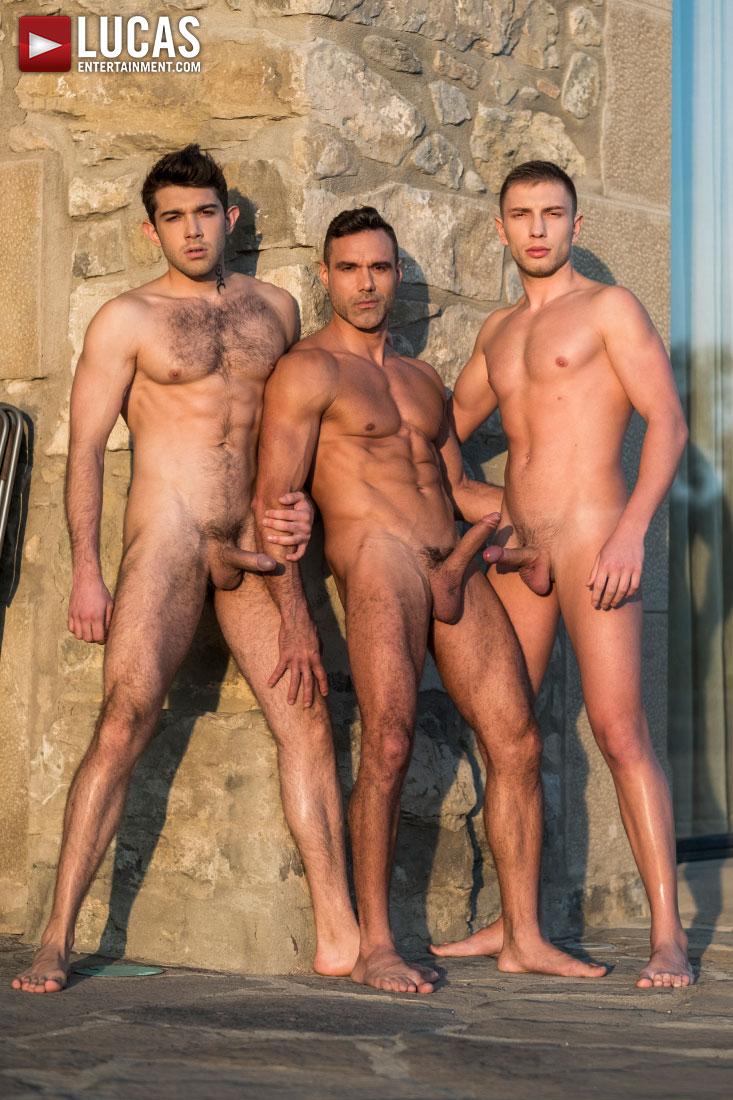 Ben Batemen And Bogdan Gromov Share Manuel Skye's Daddy Dick - Gay Movies - Lucas Entertainment