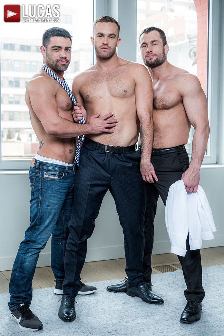 Stas Landon, Jackson Radiz, And Wagner Vittoria Flip-Fuck - Gay Movies - Lucas Entertainment