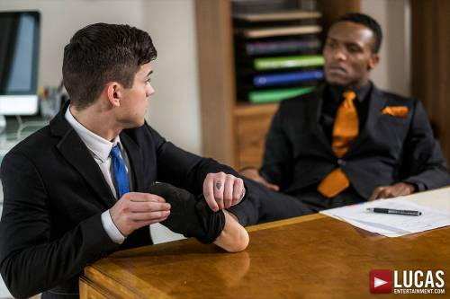 Dakota Payne Earns A Hard Promotion From Andre Donovan - Gay Movies - Lucas Entertainment