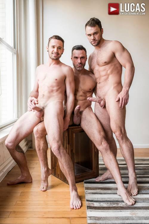 Manuel Skye, Blaze Austin, Drake Rogers | Daddy And His Boys - Gay Movies - Lucas Entertainment