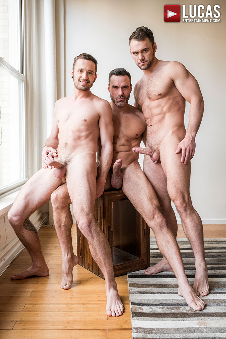 Manuel Skye, Blaze Austin, Drake Rogers | Daddy And His Boys - Gay Movies - Lucas Entertainment