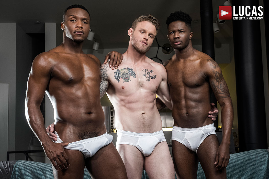 Andre Donovan And Bama Romello Double Team Shawn Reeve - Gay Movies - Lucas Entertainment