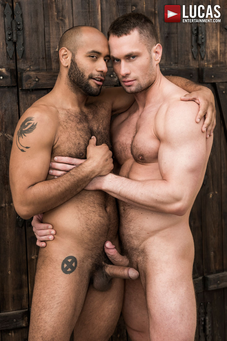 Leo Forte Worships Stas Landon's Bulging Muscles - Gay Movies - Lucas Entertainment