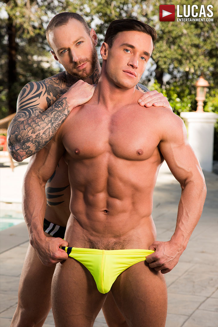 Muscle Jocks Dylan James And Alexander Volkov Flip Fuck - Gay Movies - Lucas Entertainment