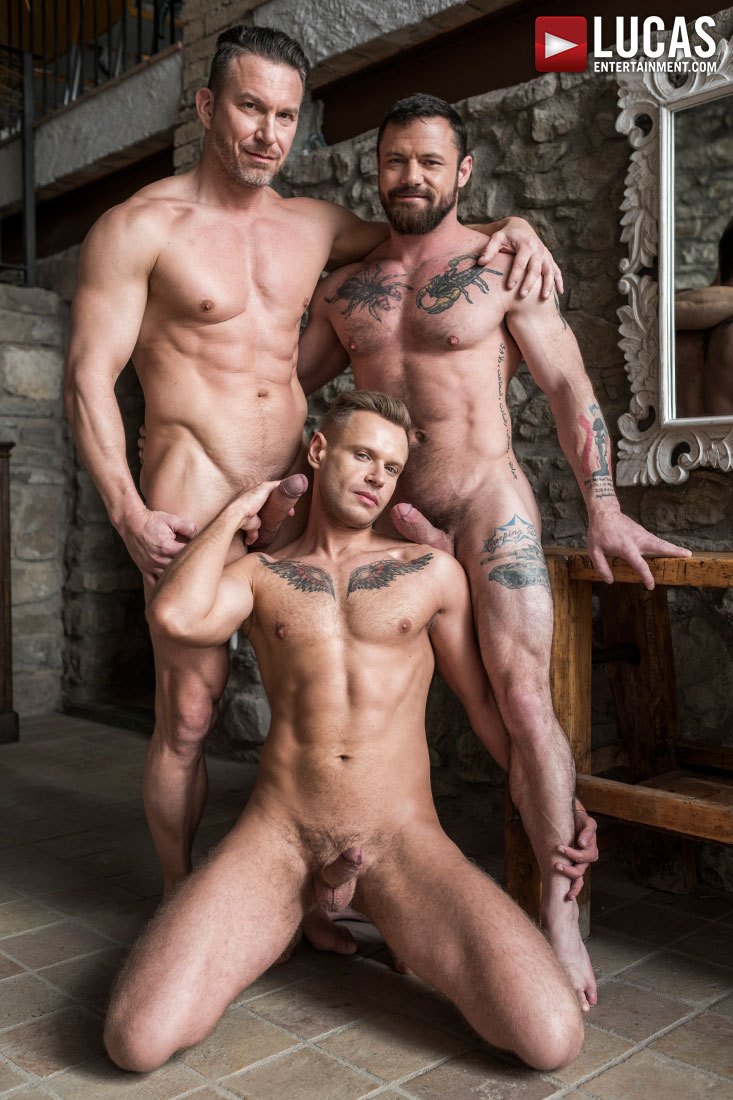 Sergeant Miles And Tomas Brand Share Yuri Orlov's Boy Hole - Gay Movies - Lucas Entertainment