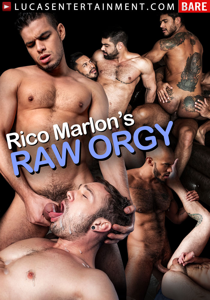 Rico Marlon's Raw Orgy - Front Cover