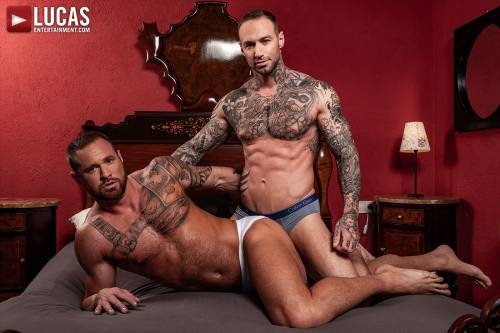 Dylan James And Michael Roman Flip-Fuck - Gay Movies - Lucas Entertainment