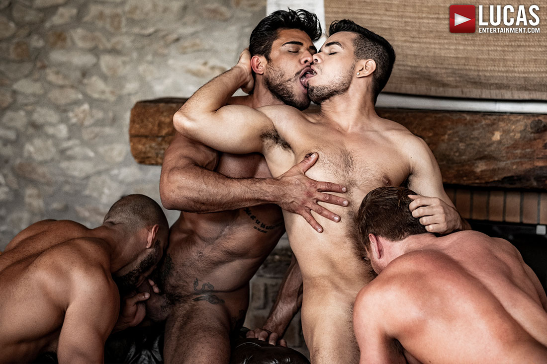 Rico Marlon's Raw Uncut Orgy - Gay Movies - Lucas Entertainment
