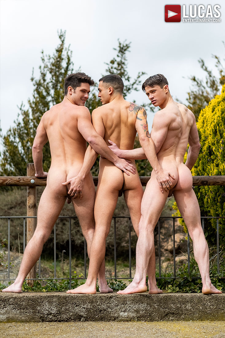 Devin Franco, Ruslan Angelo, Leo Rex | Ball Zapping Action - Gay Movies - Lucas Entertainment