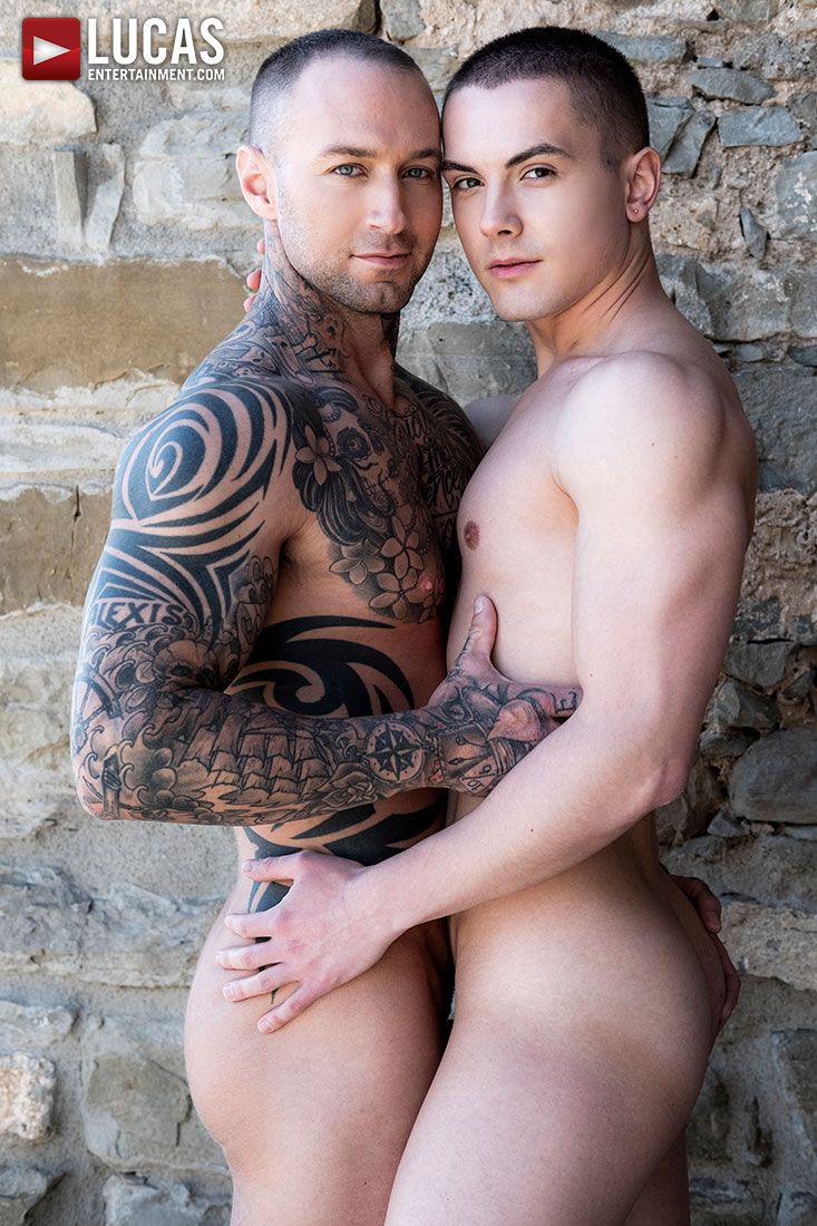 Dylan James Breeds Austin Sugar - Gay Movies - Lucas Entertainment