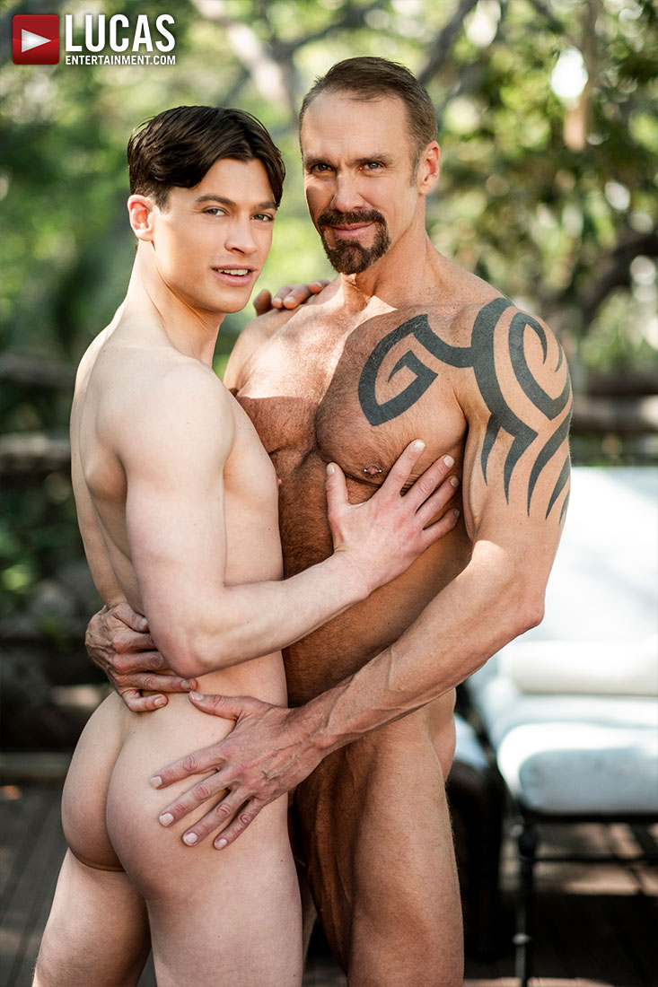 Dallas Steele Makes His Bareback Debut With Ruslan Angelo - Gay Movies - Lucas Entertainment