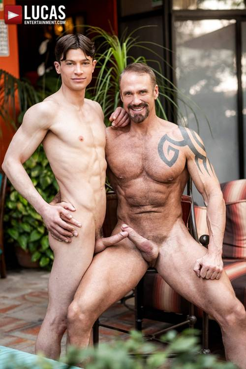Dallas Steele Makes His Bareback Debut With Ruslan Angelo - Gay Movies - Lucas Entertainment