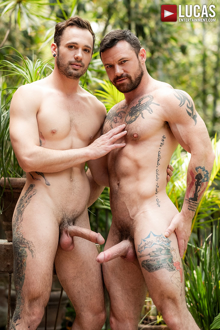 Sergeant Miles Owns Drake Rogers' Throat And Ass - Gay Movies - Lucas Entertainment