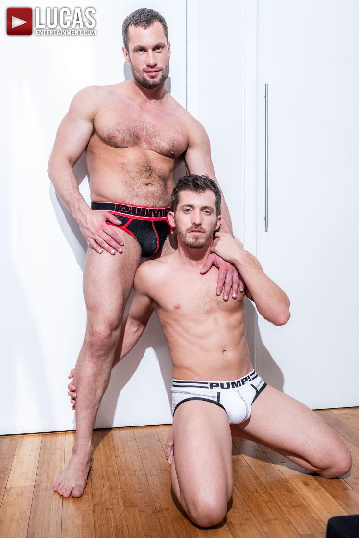 Stas Landon Barebacks Shawn Andrews - Gay Movies - Lucas Entertainment