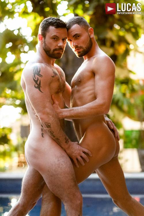 Jeffrey Lloyd Gives His Hole To Sergeant Miles - Gay Movies - Lucas Entertainment