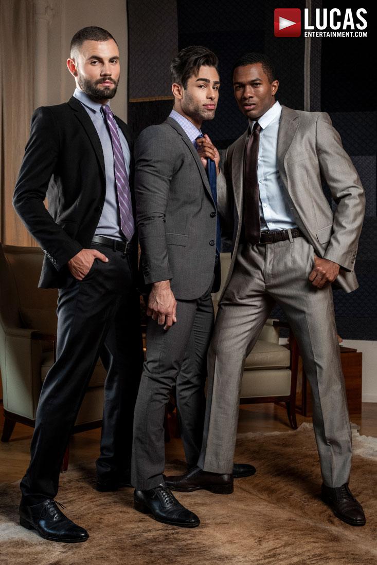 Sean Xavier And Jeffrey Lloyd Share Lucas Leon