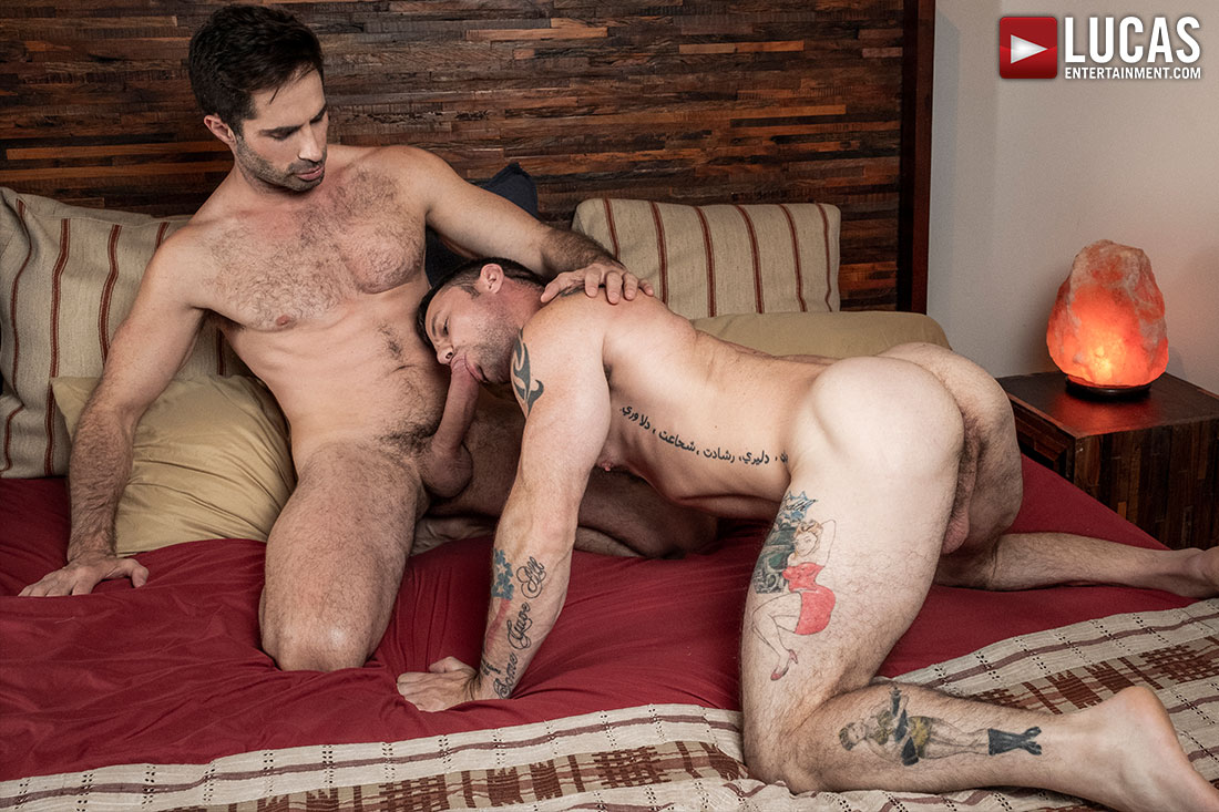 Sergeant Miles Bottoms For Michael Lucas - Gay Movies - Lucas Entertainment