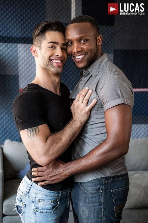 Lucas Leon Rides Andre Donovan's Raw Black Cock - Gay Movies - Lucas Entertainment