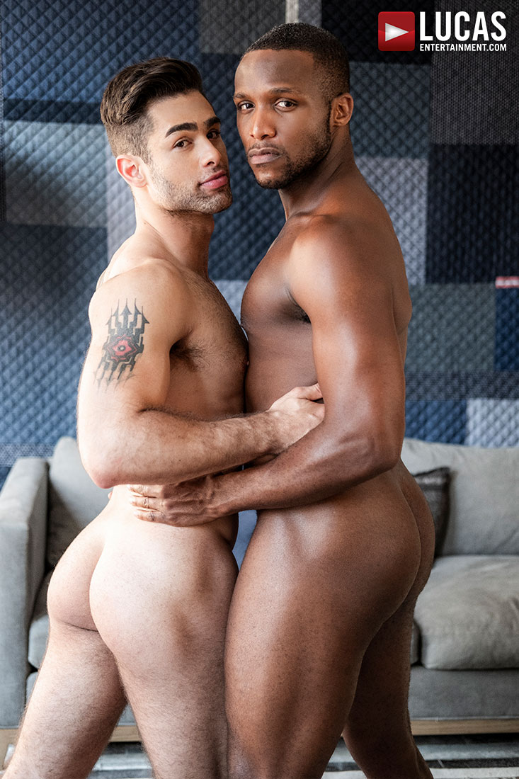 Lucas Leon Rides Andre Donovan's Raw Black Cock - Gay Movies - Lucas Entertainment