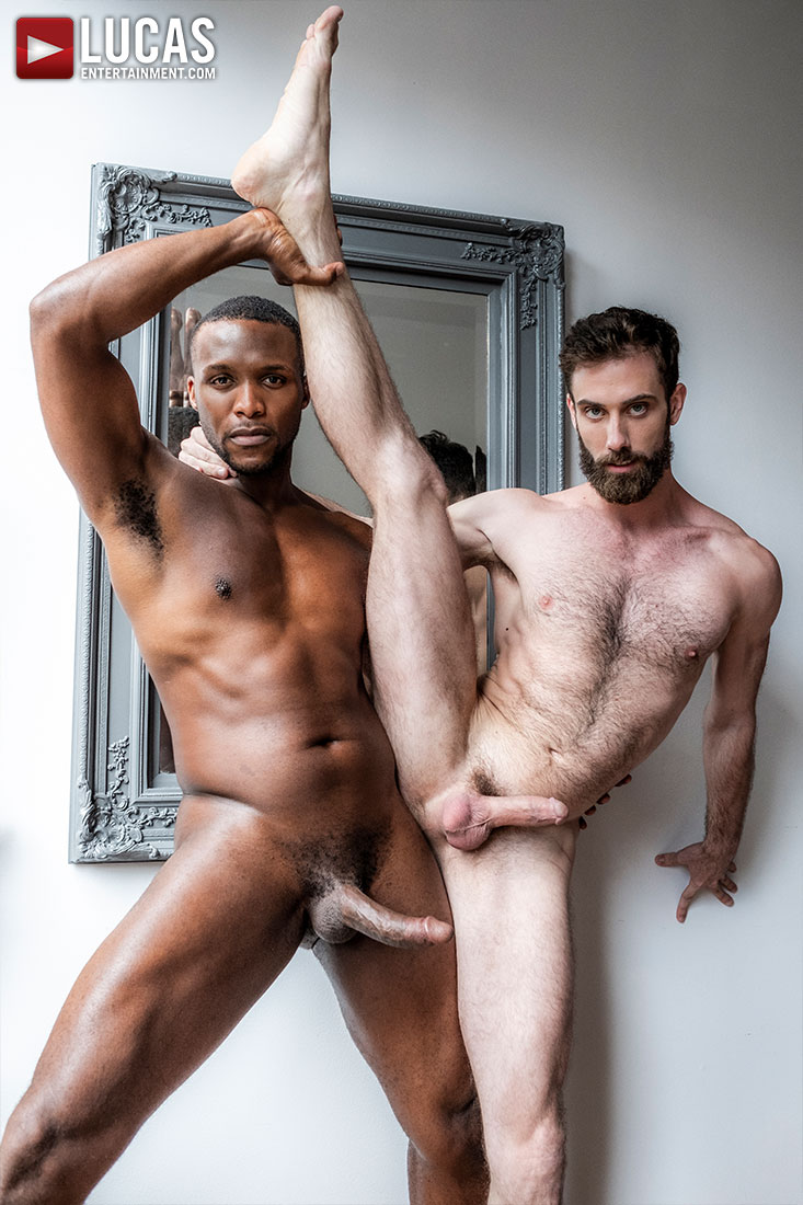 Andre Donovan, Jason Cox, Mike Maverick | Interracial Cuckold Fantasy - Gay Movies - Lucas Entertainment