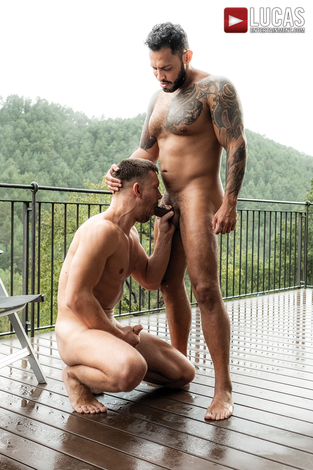 Viktor Rom Splits Andrey Vic's Ass - Gay Movies - Lucas Entertainment