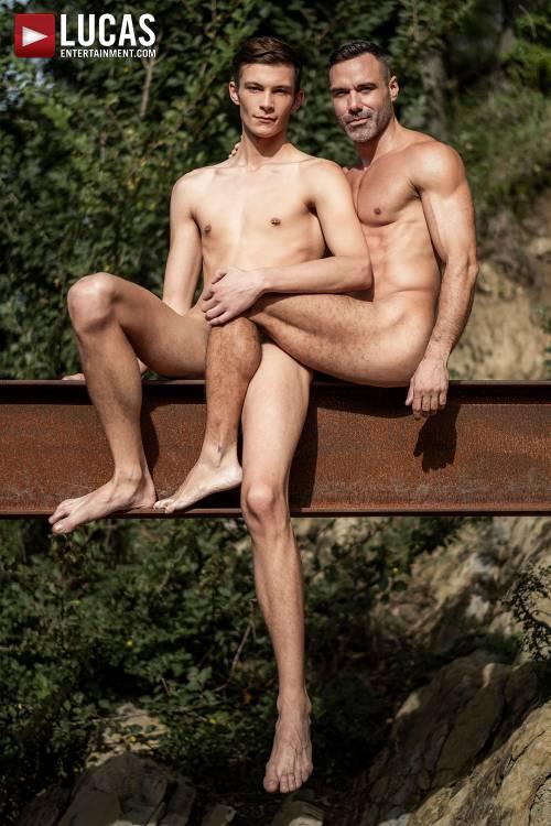 Braxton Boyd's Bareback Debut With Manuel Skye - Gay Movies - Lucas Entertainment