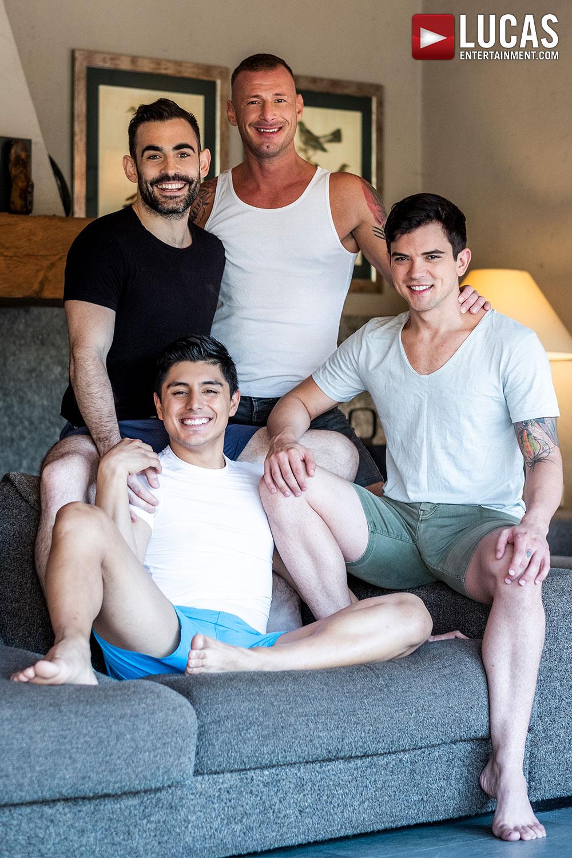 Logan And Max Breed Dakota And Ken - Gay Movies - Lucas Entertainment