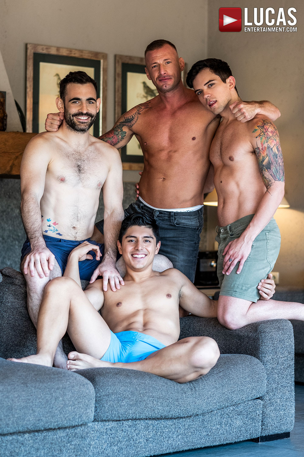 Logan And Max Breed Dakota And Ken - Gay Movies - Lucas Entertainment