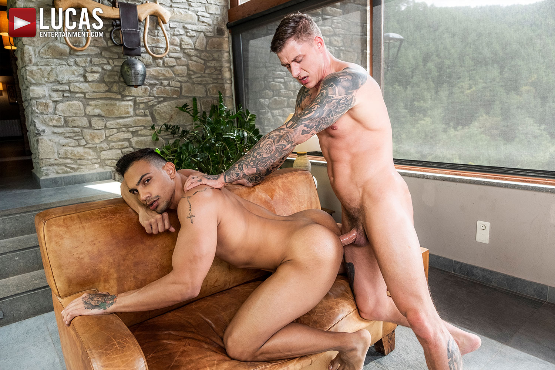 J Anders Rides Geordie Jackson's Raw Cock - Gay Movies - Lucas Entertainment