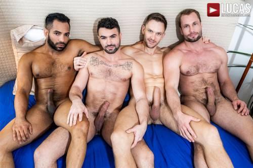 Stas Landon and Andrey Vic Breed Ian Greene and Sergio - Gay Movies - Lucas Entertainment