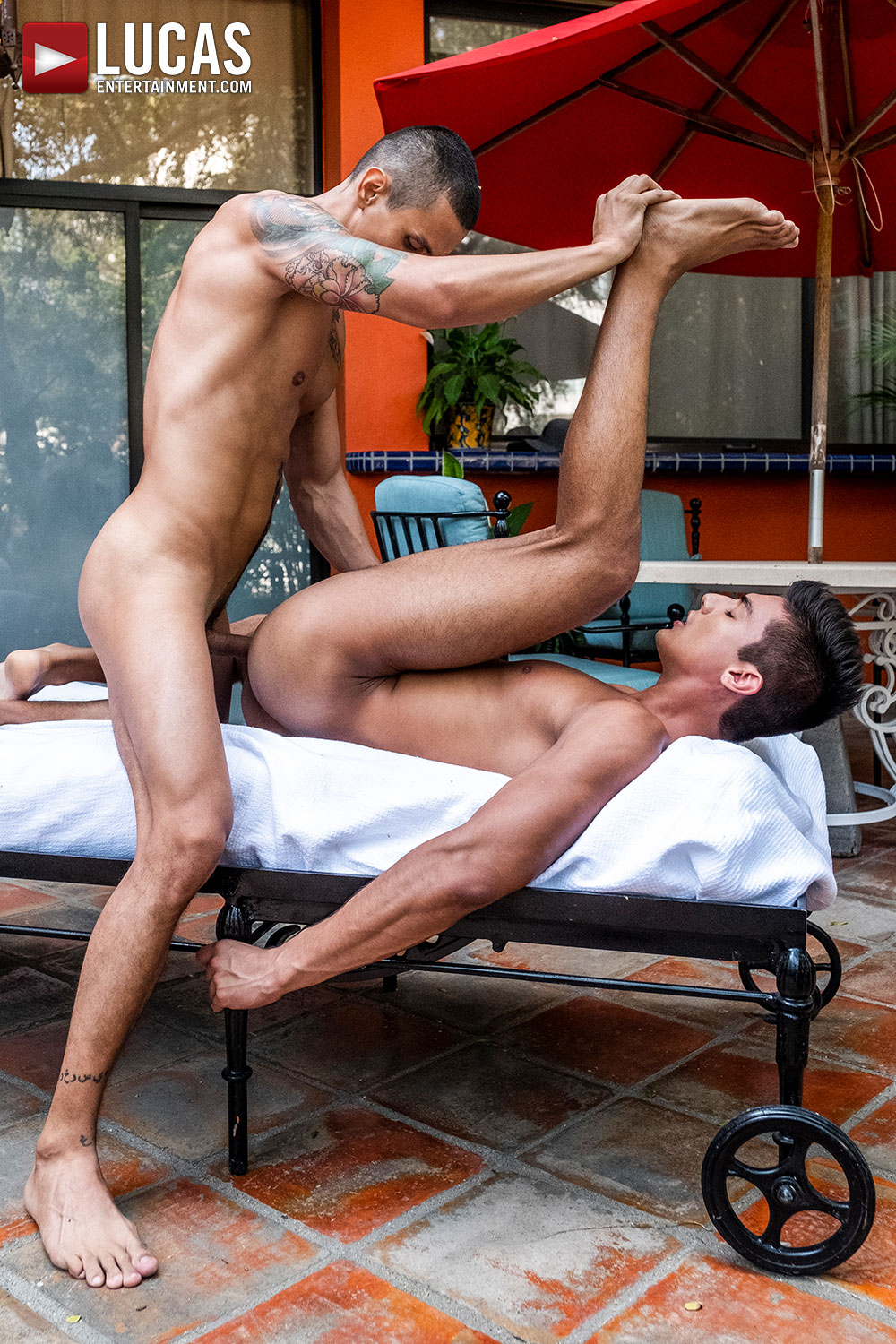 Max Avila Rails Benjamin Gomez - Gay Movies - Lucas Entertainment